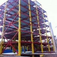 کارآموزی عمران ساختمان اسکلت فلز با سقف کمپوزیت