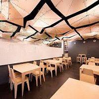گزارش کارورزی طراحی داخل رستوران